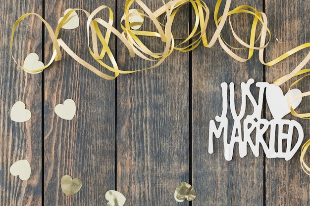 Elementy dekoracyjne ślubne