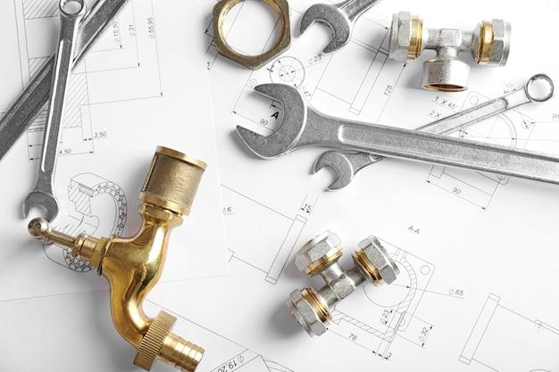 Elementy hydraulika w wersji roboczej
