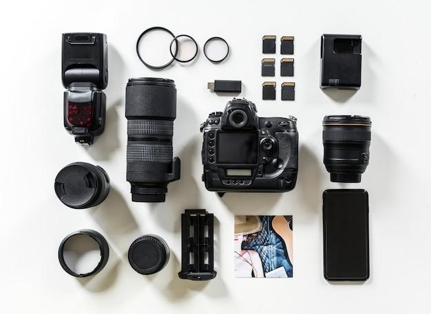 Elementy zdjęcia na wyświetlaczu