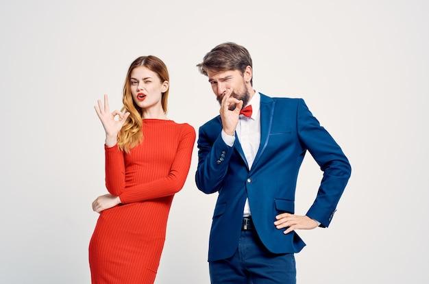 Emocjonalna komunikacja między mężczyzną a kobietą bliski związek