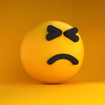 Emotikony 3d takie smutne