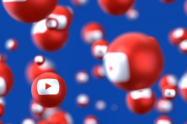 Emotikony reakcji na youtube
