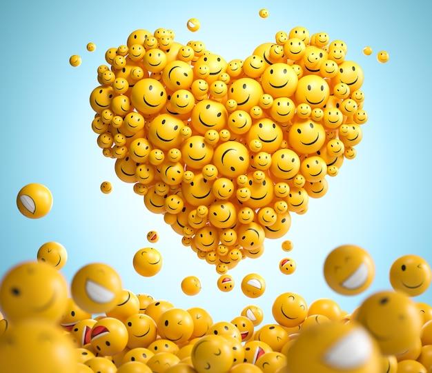Emotikony światowego dnia uśmiechu