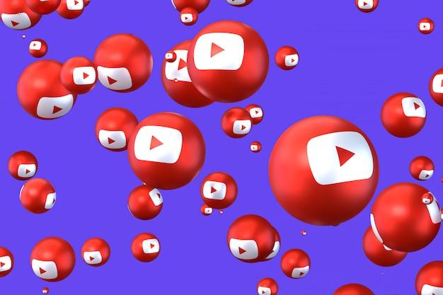 Emotikony youtube pływające