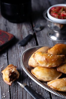 Empanadas, placki mięsne