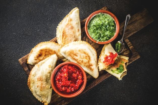 Empanadas żywności ameryki łacińskiej