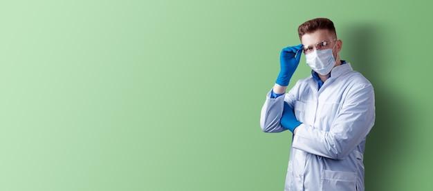 Epidemia wirusa koronowego. epidemiczny wirusowy zespół oddechowy.