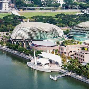 Esplanade theatre, singapur