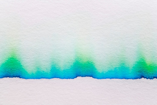 Estetyczne abstrakcyjne tło chromatografii w zielonym odcieniu