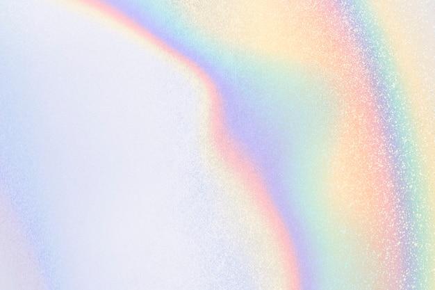 Estetyczne pastelowe holograficzne świecące niebieskie tło