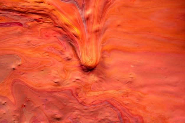 Estetyczne pomarańczowe tło ręcznie robiona sztuka eksperymentalna