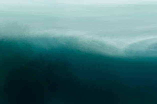 Estetyczny ocean akwarela tekstury tła