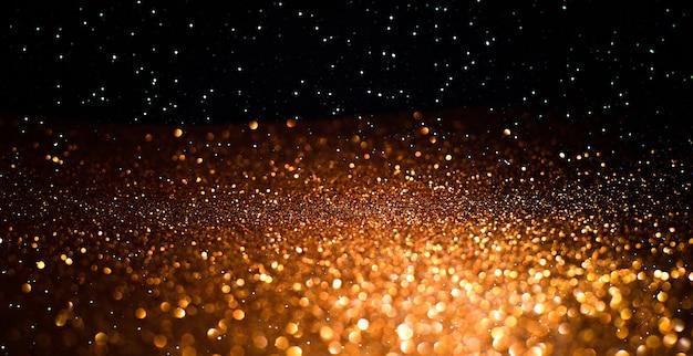 Estive światła bokeh w tle. tło wzór światła świecidełka z niewyraźne światła