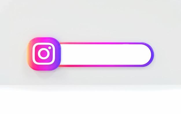 Etykieta na instagramie w tle