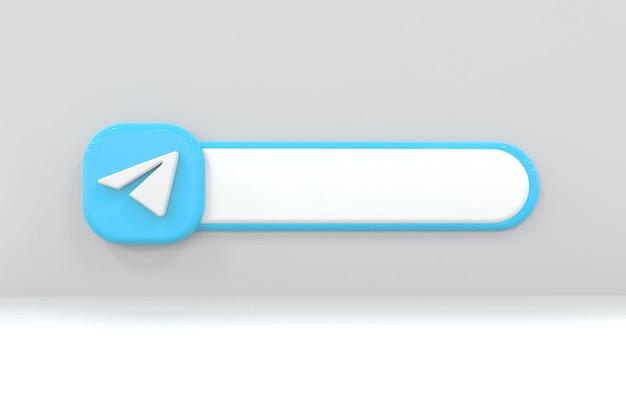 Etykieta telegramu w tle
