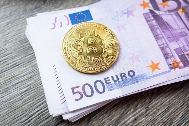 Euro i bitcoin