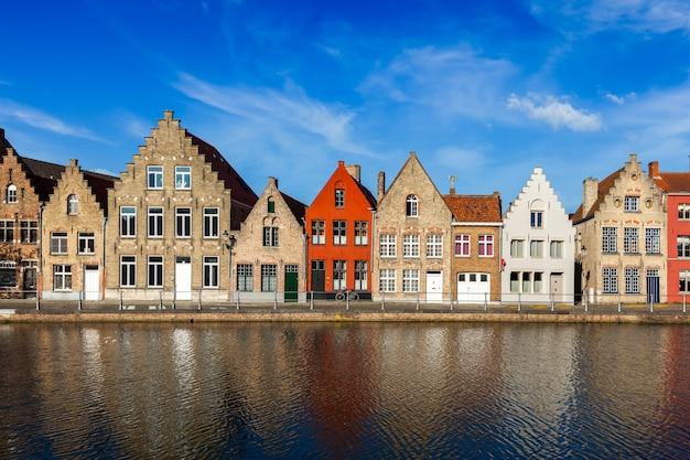 Europejskie miasto. brugia, belgia