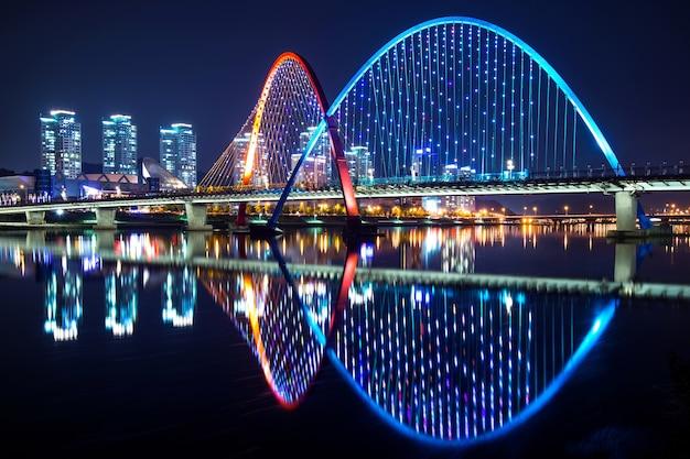 Expo bridge w daejeon w korei południowej
