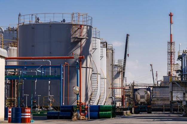 Fabryka olejów chemicznych rurociągów