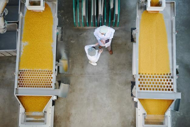 Fabryka produkcji makaronu