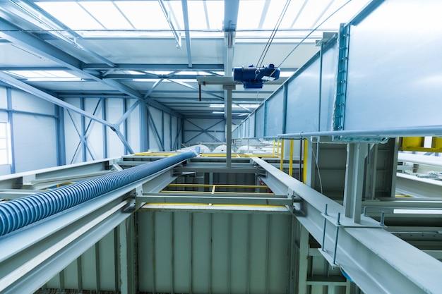 Fabryka produkcyjna, nowoczesna produkcja high-tech