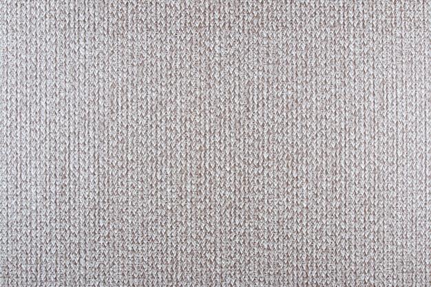 Fabuła tkaniny białe i brązowe tekstury tła.