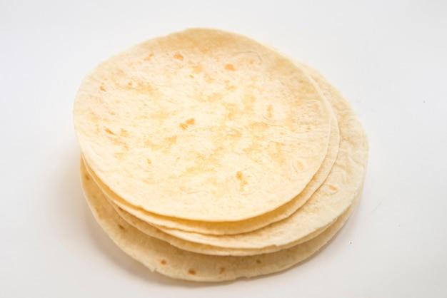 Fajitas na białej powierzchni