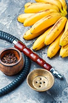 Fajka wodna o smaku bananowym