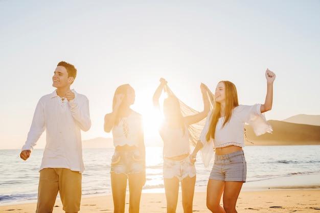 Fajna impreza na plaży