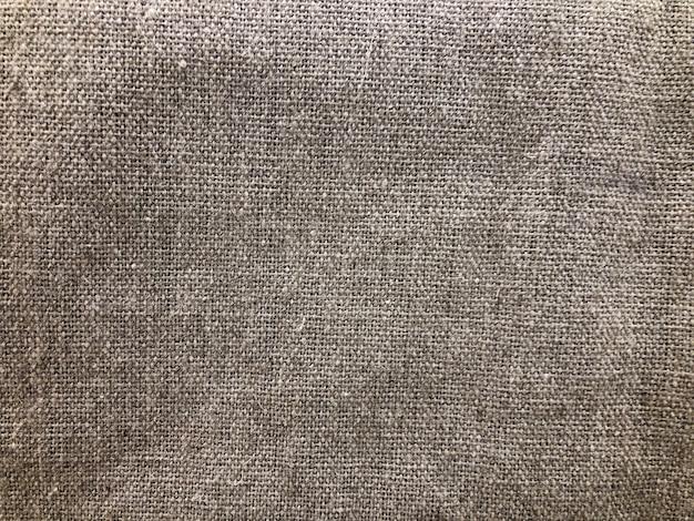 Faktura naturalnej tkaniny to brązowe tło. dekoracja wnętrz, stylowy materiał
