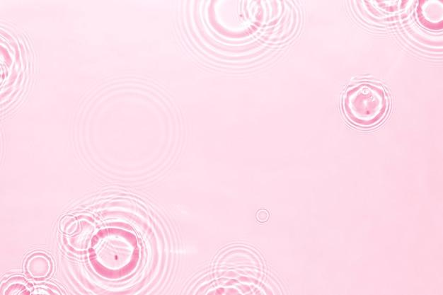 Fala wody tekstury tła, różowy wzór