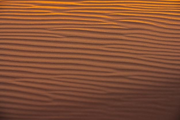 Fale piasku tekstury wydmy pustyni