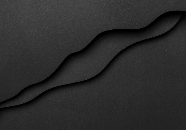 Faliste linie kopiują tło przestrzeni