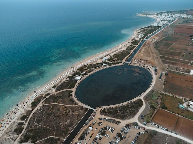Fantastyczna plaża w apulii: malediwy del salento