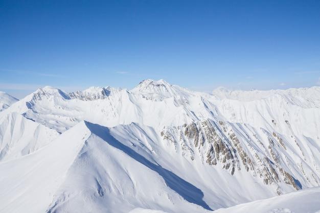 Fantastyczny zimowy krajobraz