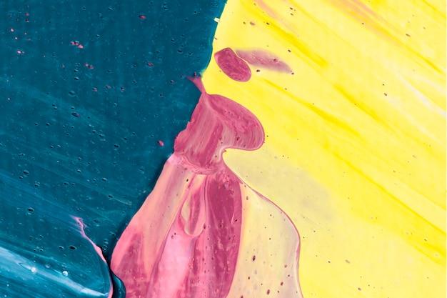 Farba akrylowa teksturowana w tle w różowym estetycznym stylu kreatywnym