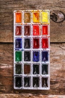 Farba akwarelowa