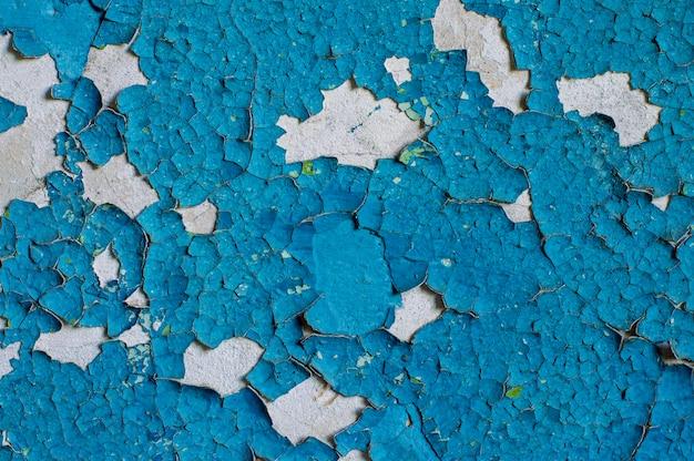 Farba tekstura ściana stary, warstwa, złuszczać, płatek, vintage, opuszczony teksturowane