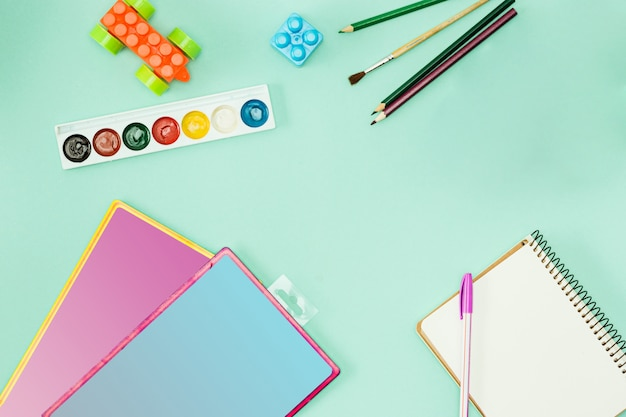 Farby i pędzle. powrót do koncepcji szkoły.