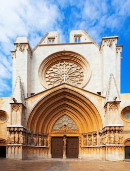 Fasada katedry w tarragonie