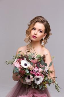 Fashion beauty model