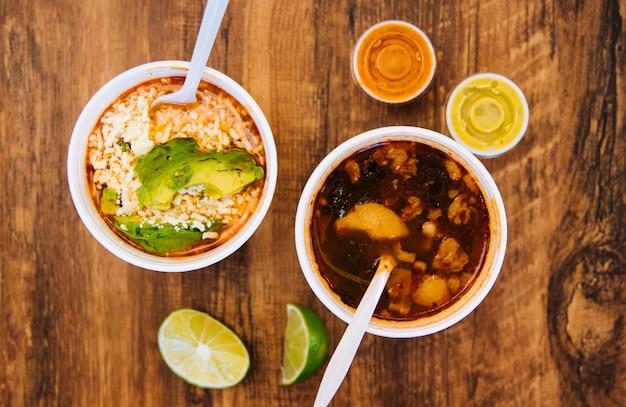Fasola i ser meksykański