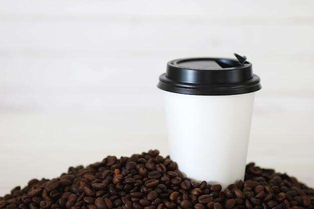 Fasola papierowa do kawy