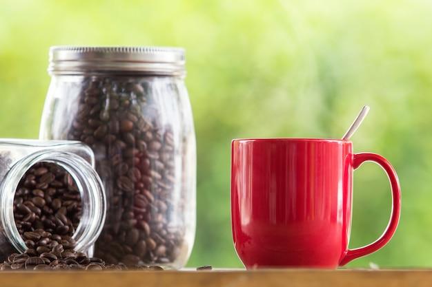 Fasola zapach dymu tabeli espresso