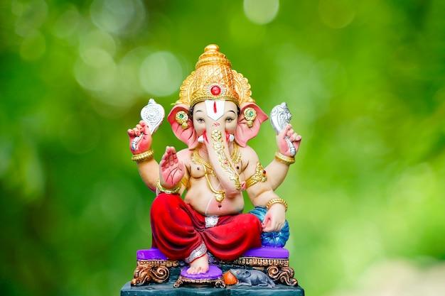 Festiwal ganesha, posąg lorda ganesha