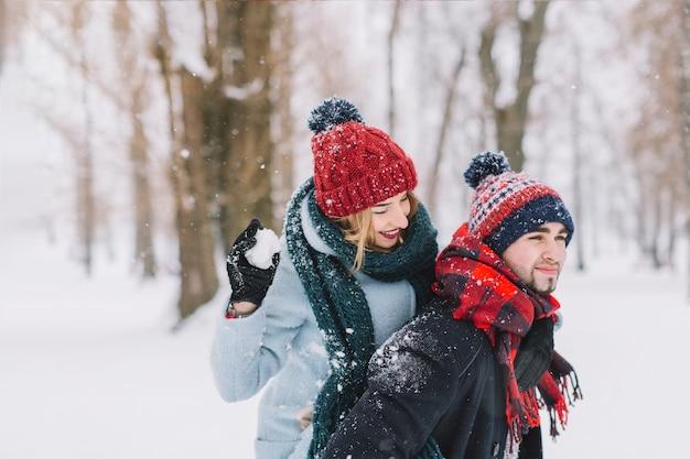 Figlarny para w winter park