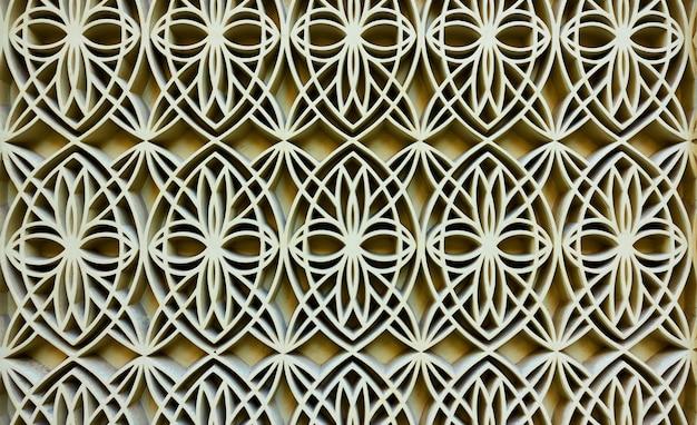 Figurowy wzór arabski, może być używany jako tło