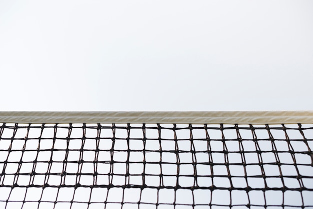 Filet tenisowy o niskim kącie widzenia