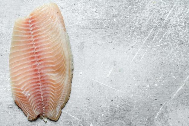Filet z ryby tilapia.
