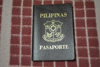 Filipiny paszport